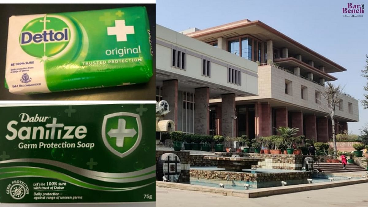 Sanitize soap bar can't be confused with Dettol: Delhi High Court refuses relief to Reckitt Benckiser in suit against Dabur