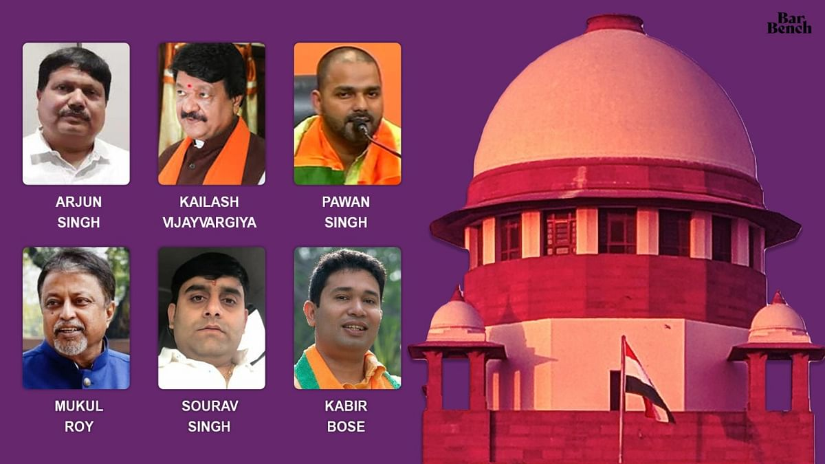 "Six Bengal BJP leaders move Supreme Court alleging vendetta by ""Trinamool controlled"" State police, seek transfer of cases to independent agency"