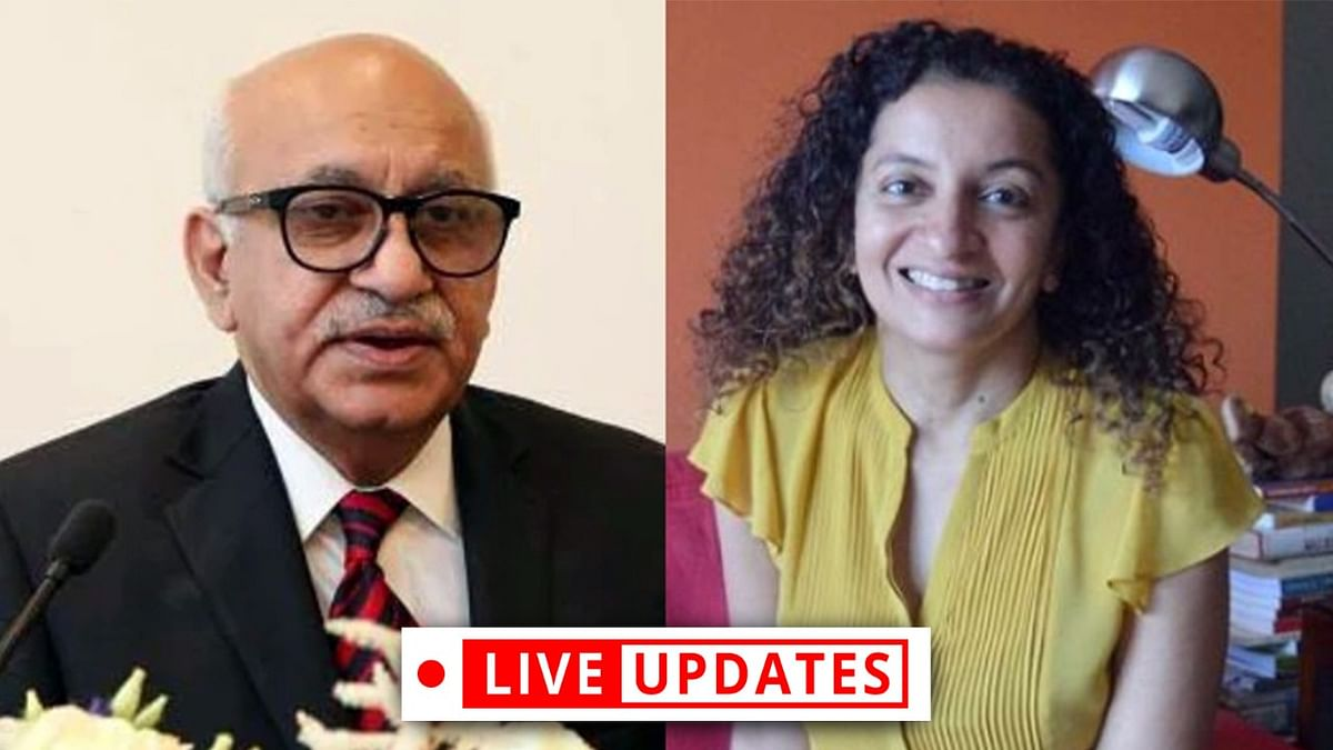 [MJ Akbar v. Priya Ramani] Social media trial unacceptable in a country governed by rule of law: Geeta Luthra argues for Akbar - LIVE UPDATES