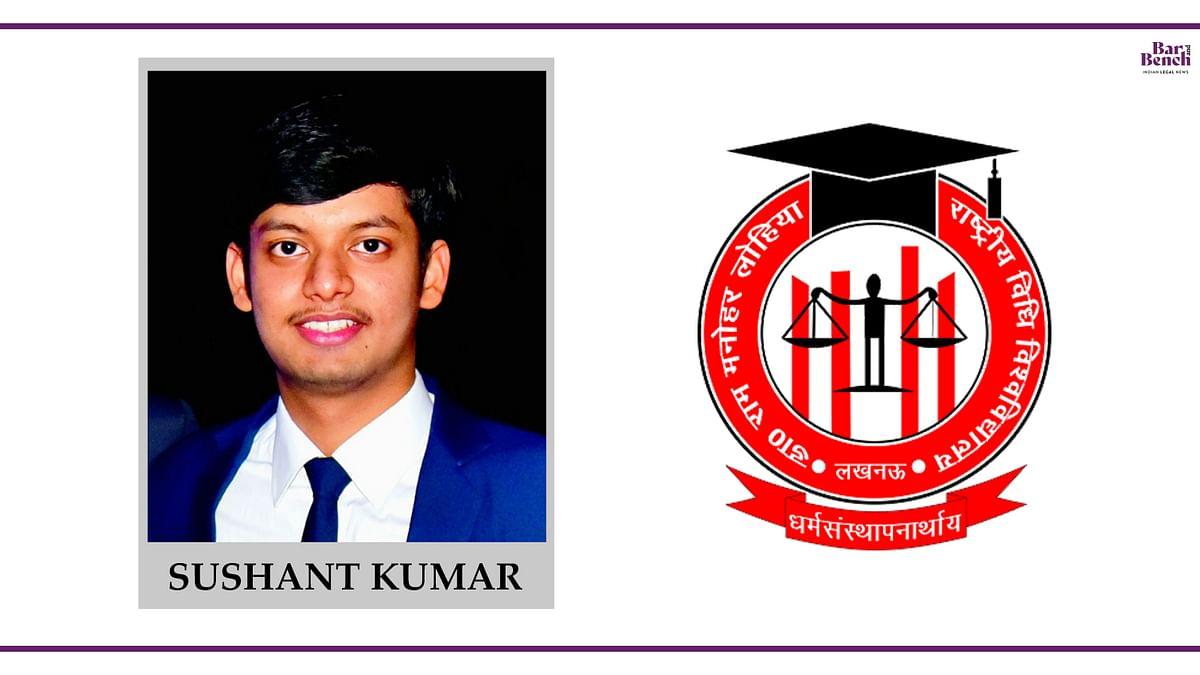 Know Your Campus Ambassador: Sushant Kumar, RMLNLU