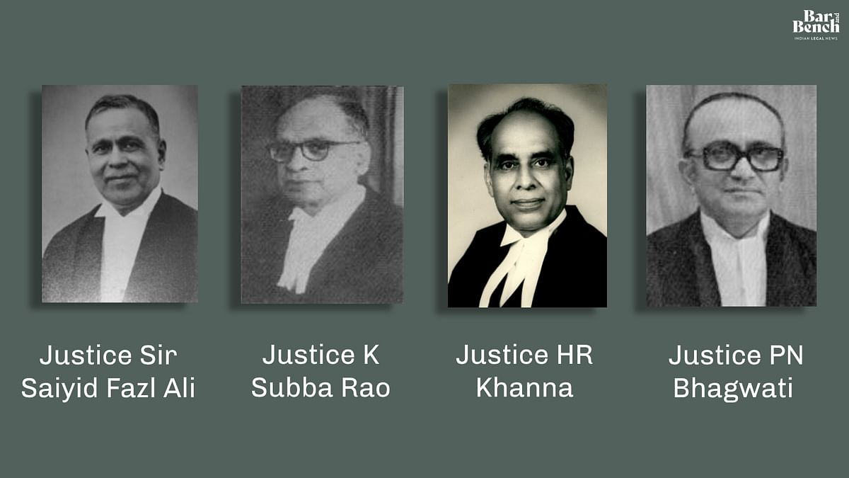 From Fazl Ali J. in AK Gopalan to PN Bhagwati J. in Associated Cement Company: Justice UU Lalit on five great dissents by Supreme Court judges