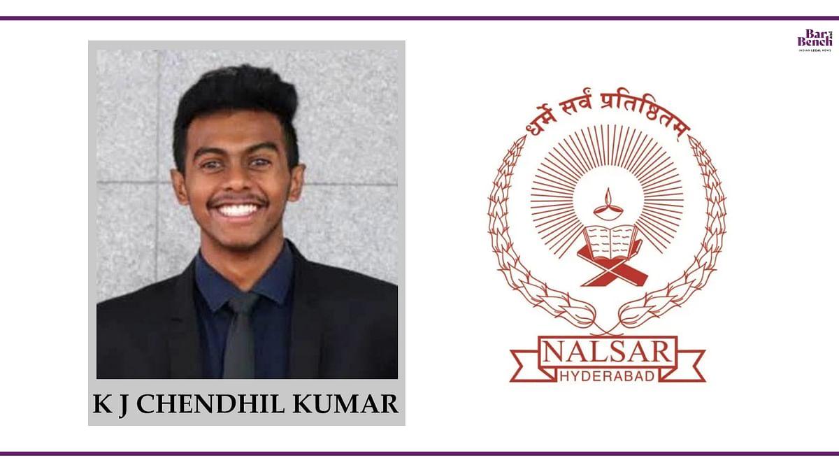 Know your Campus Ambassador: K J Chendhil Kumar, NALSAR University
