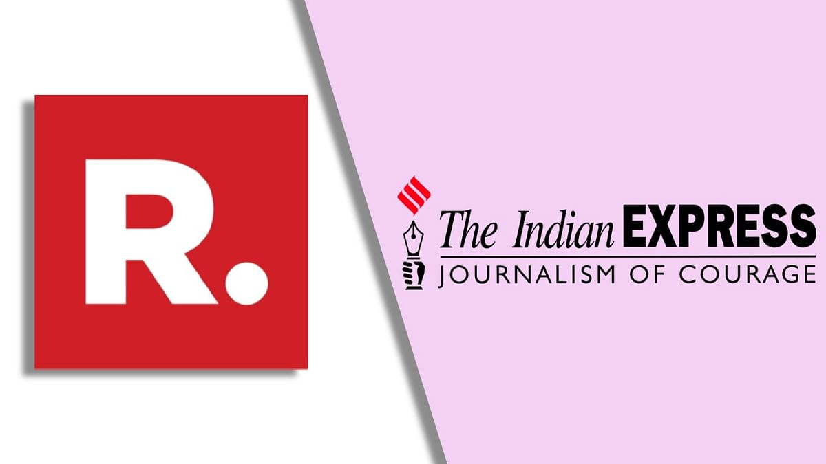 """Headline is squarely deliberate and mischievous"", Republic TV sends legal notice to Indian Express for story on Arnab Goswami"