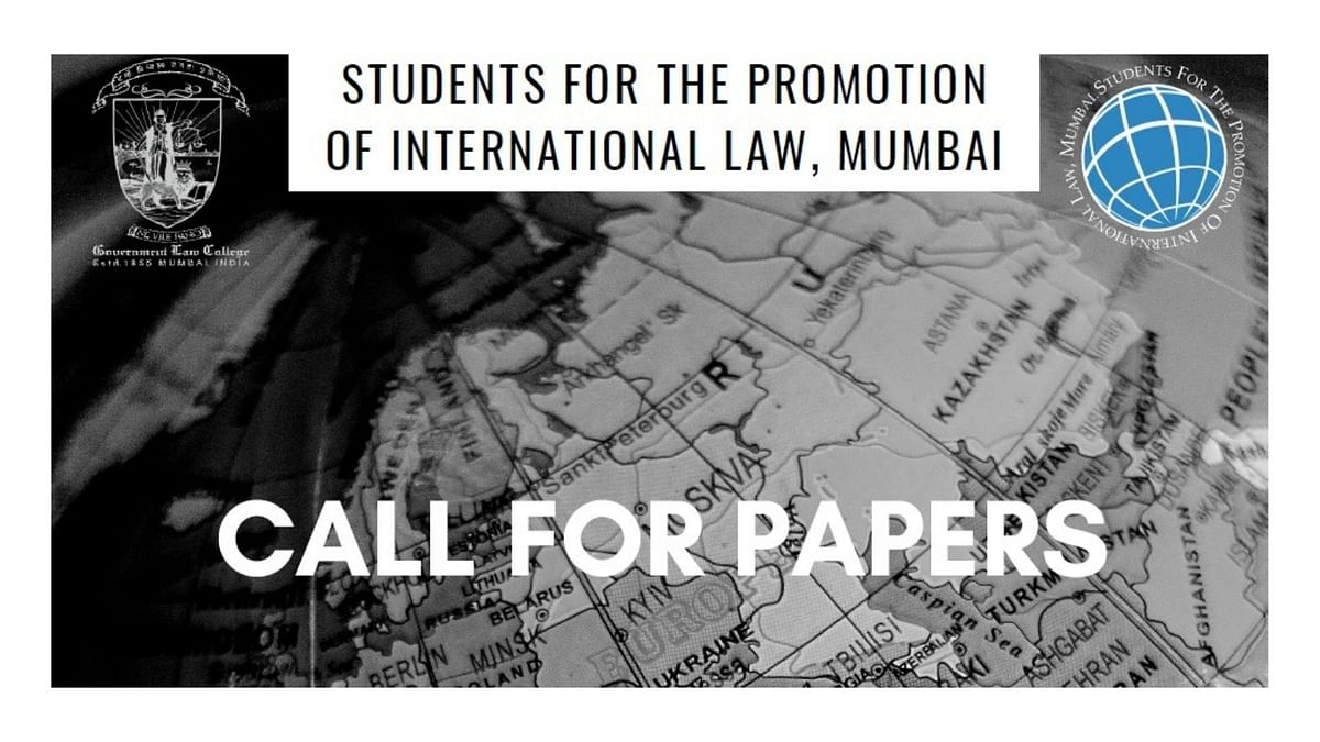 Call for Papers: SPIL's International Law Journal Volume I (Submit by Feb 05)