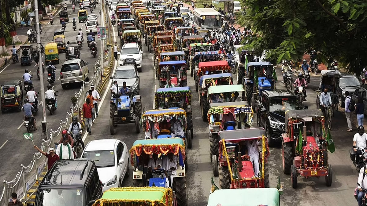 """""""Right to protest doesn't include right to malign nation:"""" Delhi Police moves Supreme Court for ban on tractor rally planned on Republic Day"""
