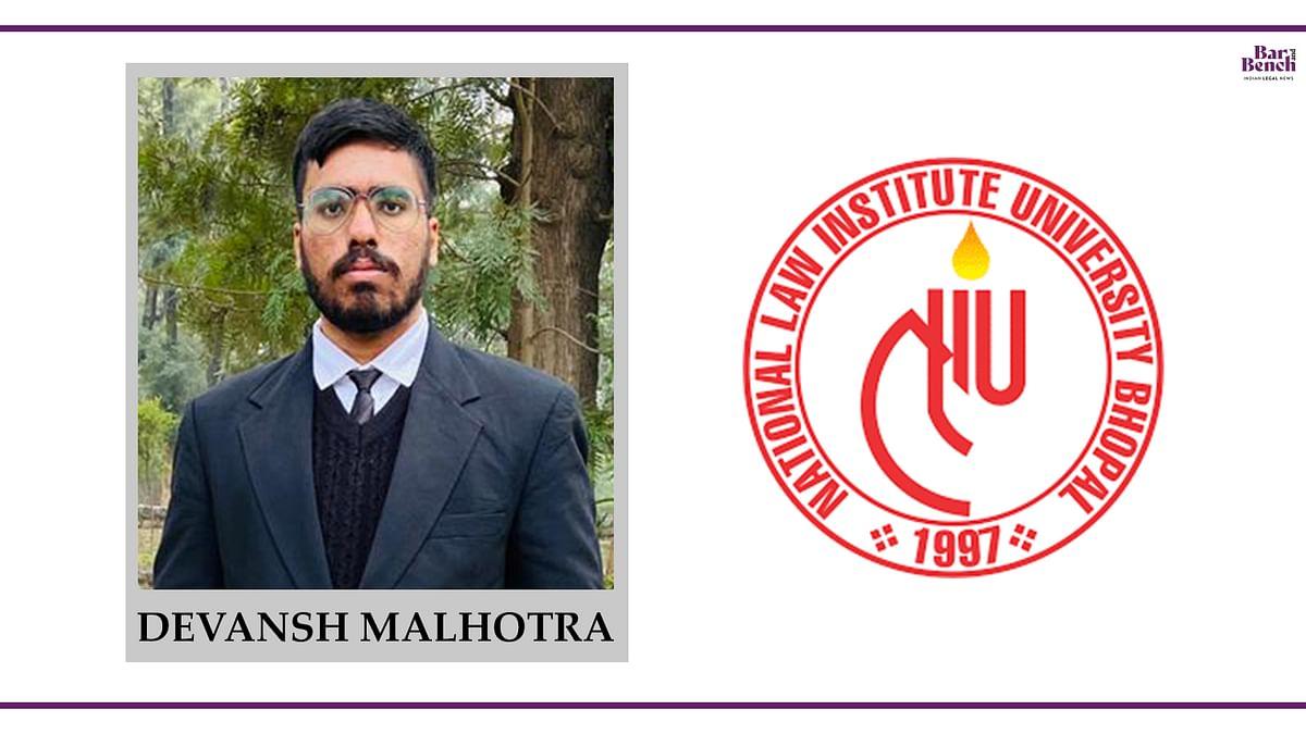 Know Your Campus Ambassador: Devansh Malhotra, NLIU