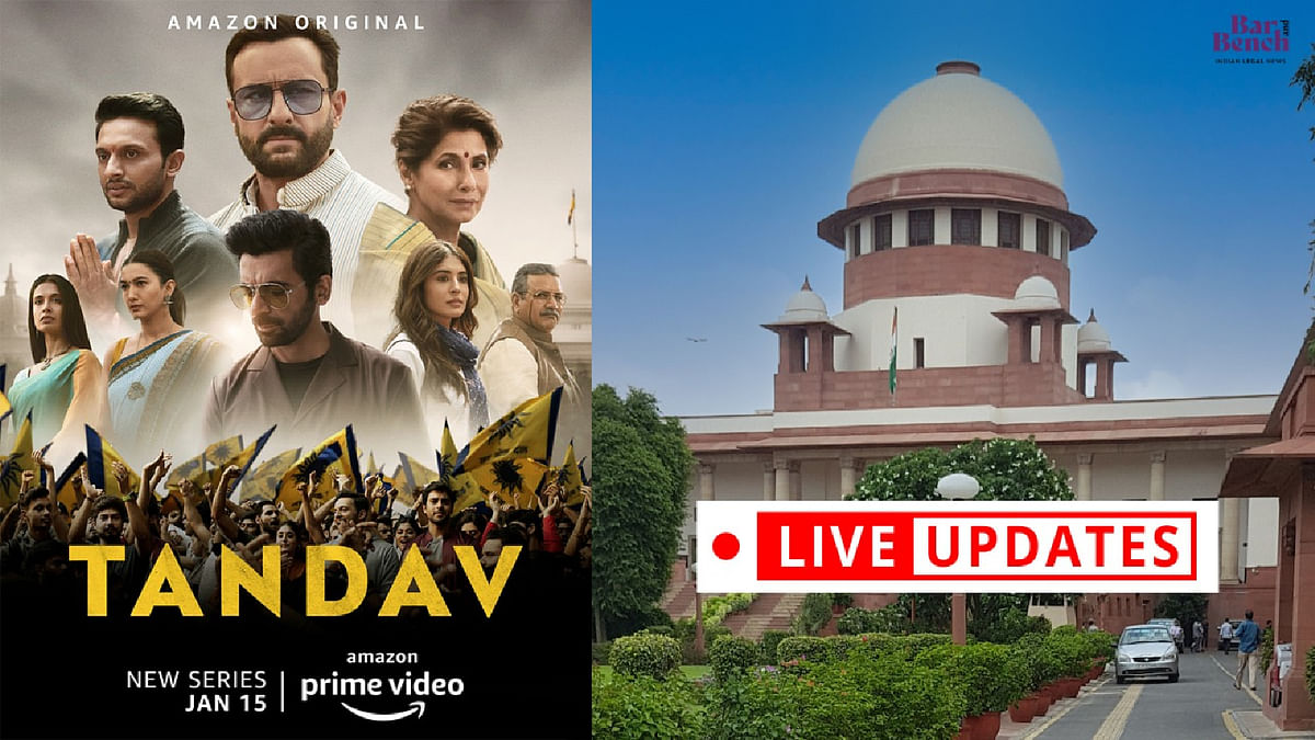 Supreme Court hears plea to quash FIRs against the makers of Tandav web series [LIVE UPDATES]
