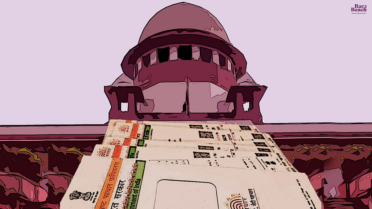 Supreme Court to hear Aadhar Review petitions tomorrow in chamber