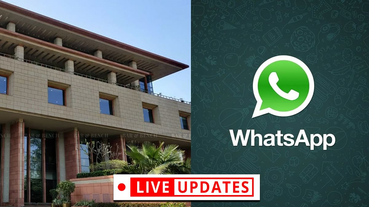 Delhi High Court hears challenge to new WhatsApp privacy policy [LIVE UPDATES]