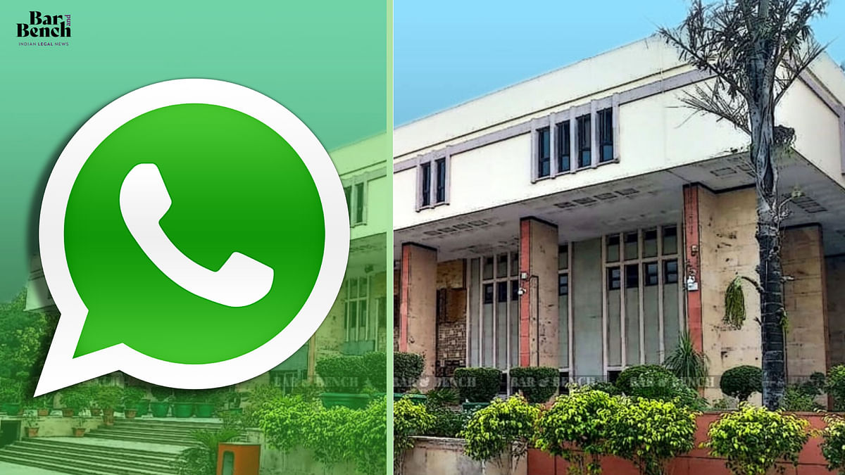 Restrain WhatsApp from implementing  new privacy policy: Central government to Delhi High Court