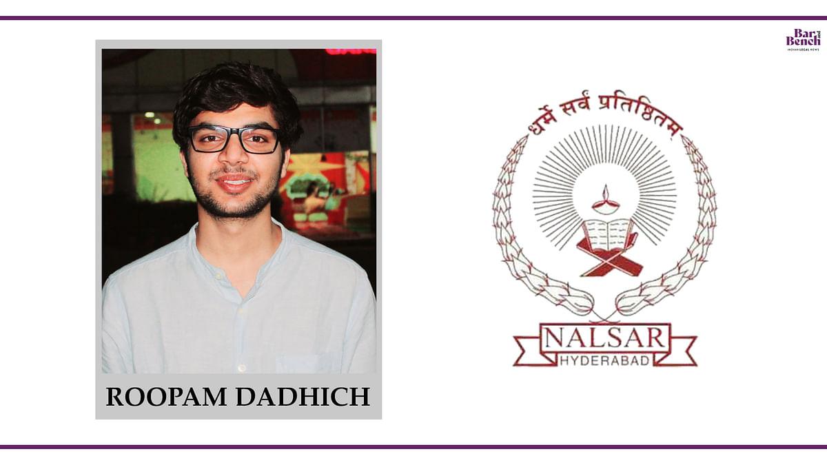 Know Your Campus Ambassador: Roopam Dadhich, NALSAR