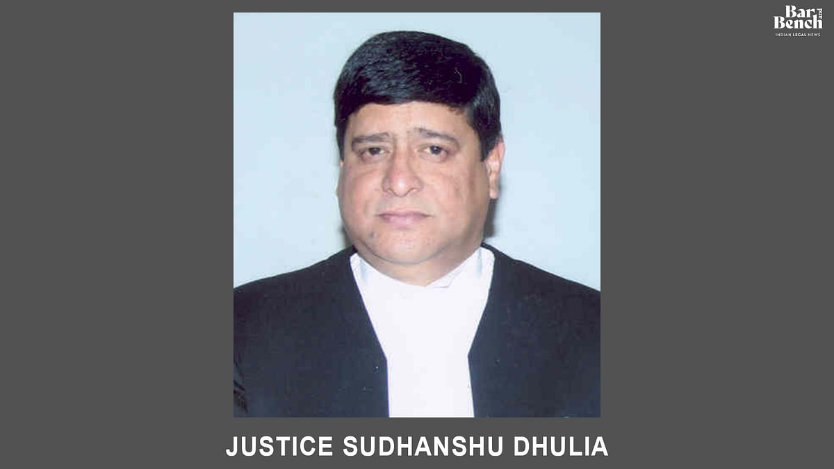 Justice Sudhanshu Dhulia appointed Chief Justice of Gauhati High Court