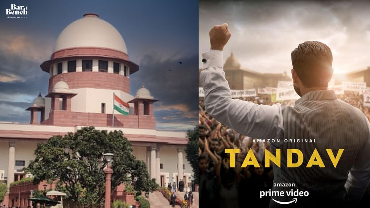 [TANDAV] Supreme Court grants protection from arrest to Amazon Prime India head Aparna Purohit; calls for law to regulate OTT platforms