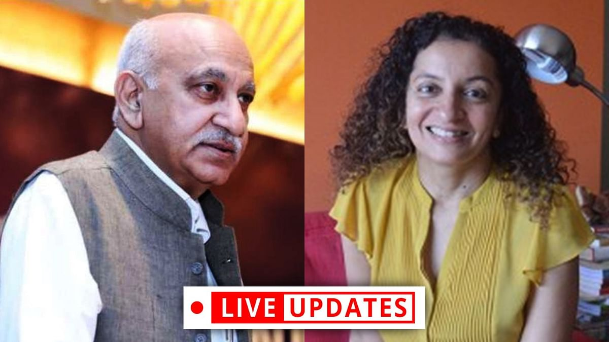 Priya Ramani has built an imaginary story, made bald, vague pleas in defence: Geeta Luthra argues for MJ Akbar in Delhi Court [LIVE UPDATES]