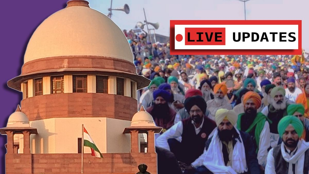 [Farmers Protests] Plea to permit Satyagraha at Jantar Mantar: Live Updates from Supreme Court