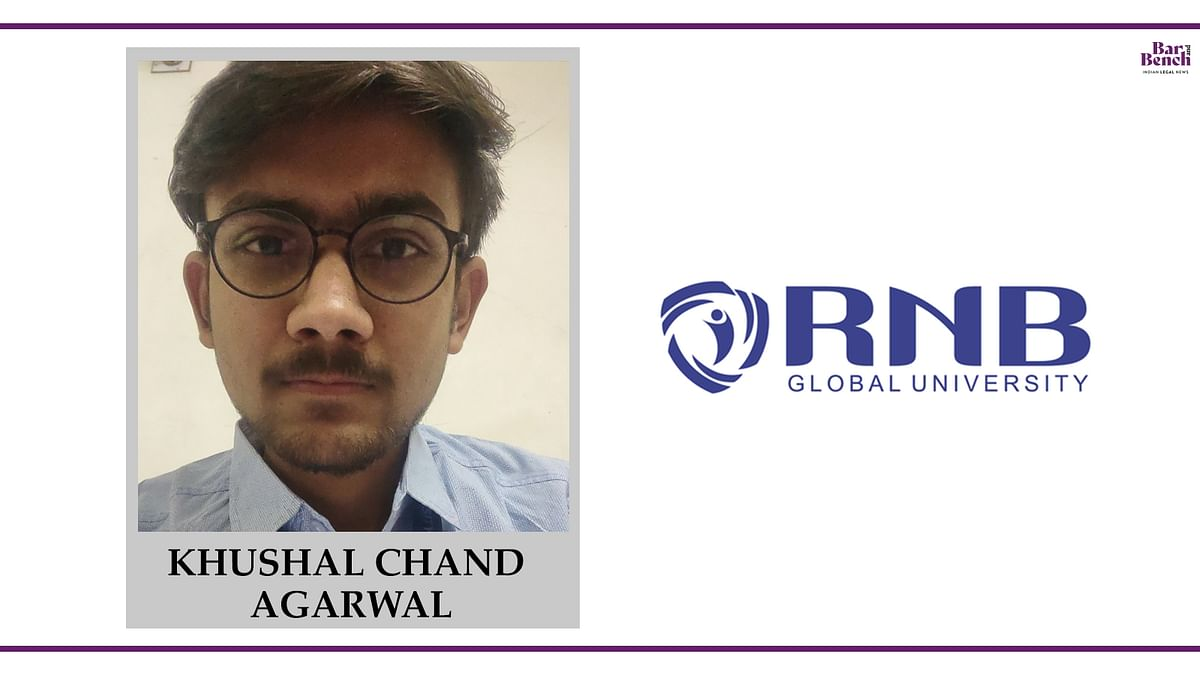 Know your Campus Ambassador: Khushal Chand Agarwal, RNB Global University