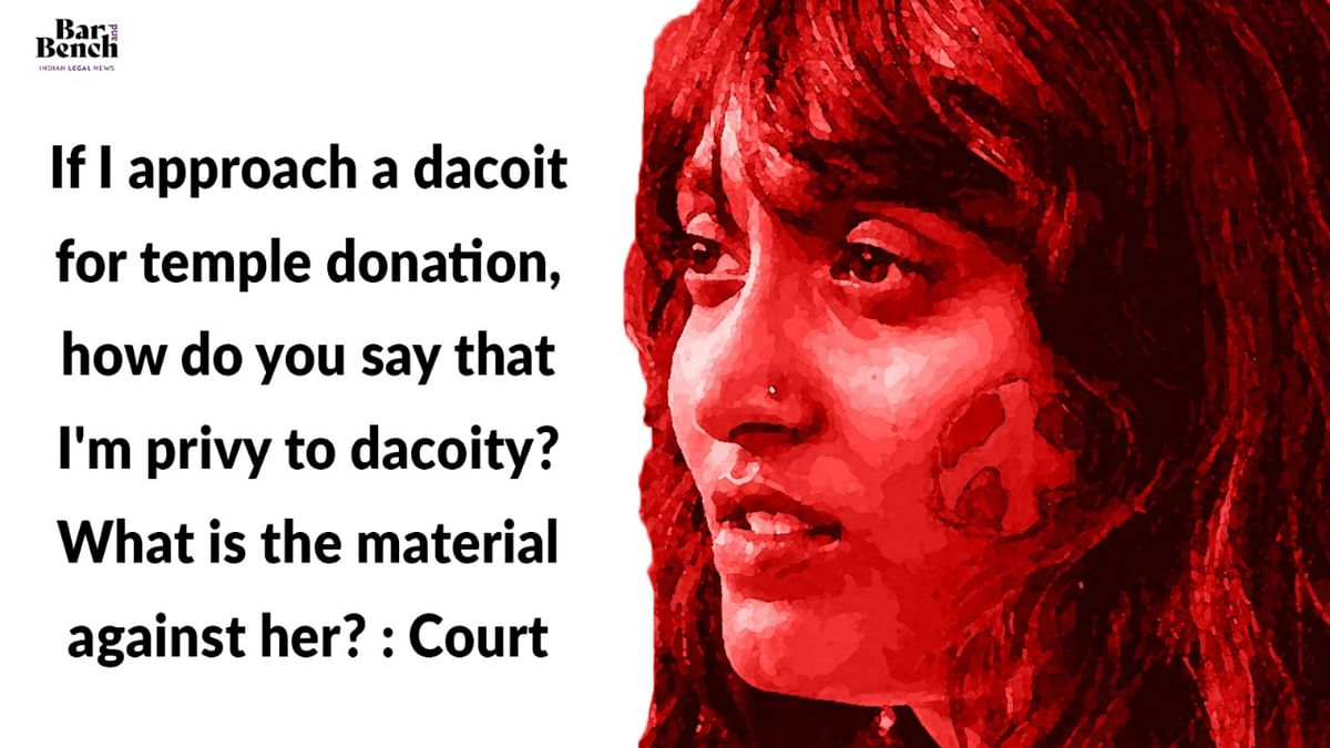 "Disha Ravi bail hearing: ""If I approach a dacoit for temple donation, how do you say I'm privy to dacoity?"" and other highlights"