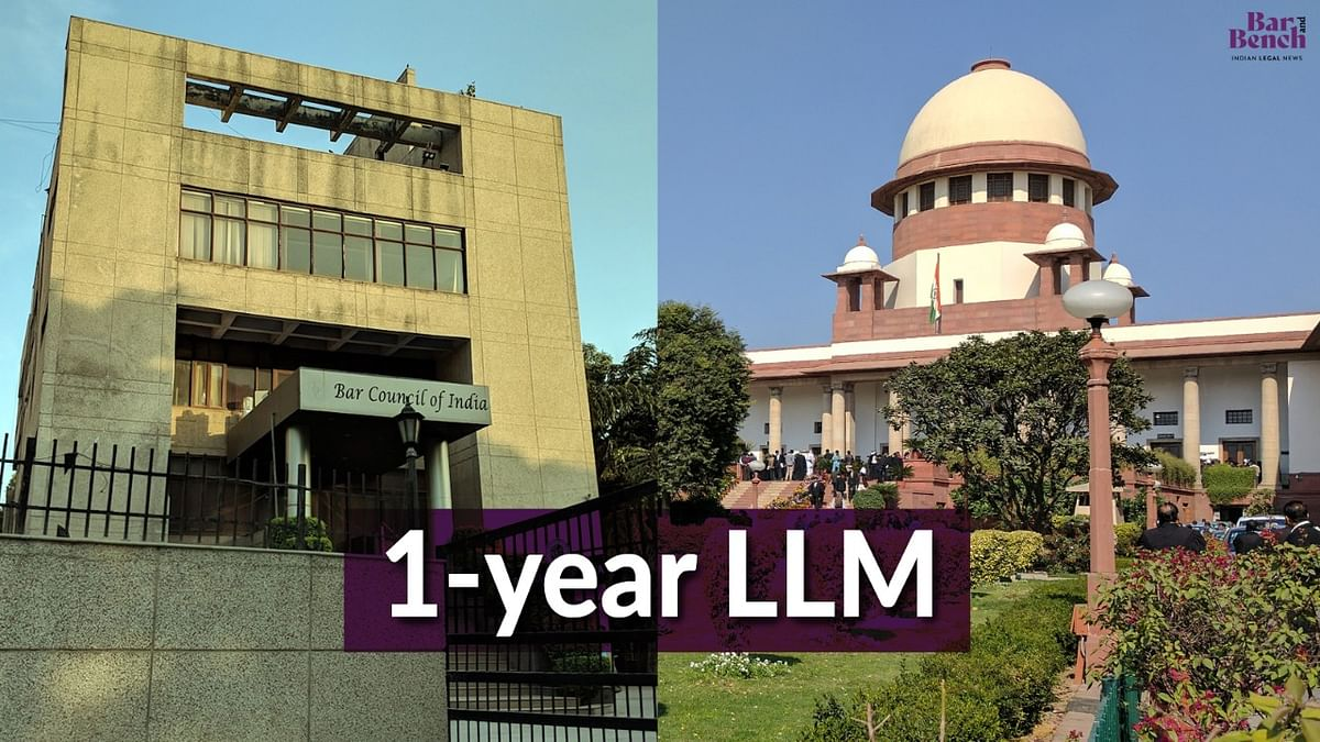 [BREAKING] NLU Consortium moves Supreme Court challenging BCI decision to scrap one year LL.M; Hearing on interim relief tomorrow