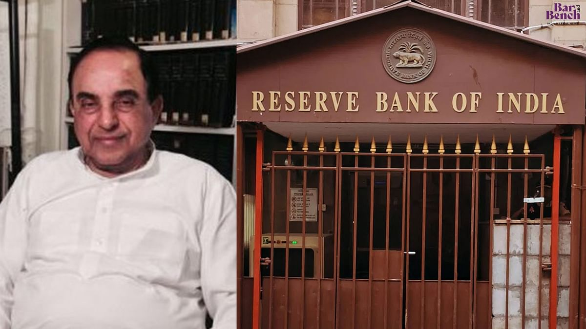 Banking scams have led to loss of faith in India's banking system: Subramanian Swamy moves Supreme Court for CBI probe against RBI officers