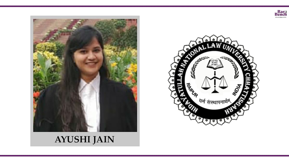 Know your Campus Ambassador: Ayushi Jain, HNLU