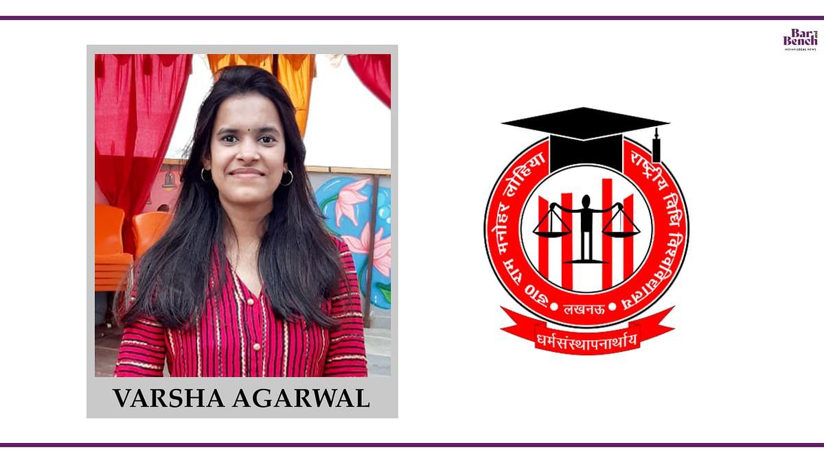 Know your Campus Ambassador: Varsha Agarwal, RMLNLU