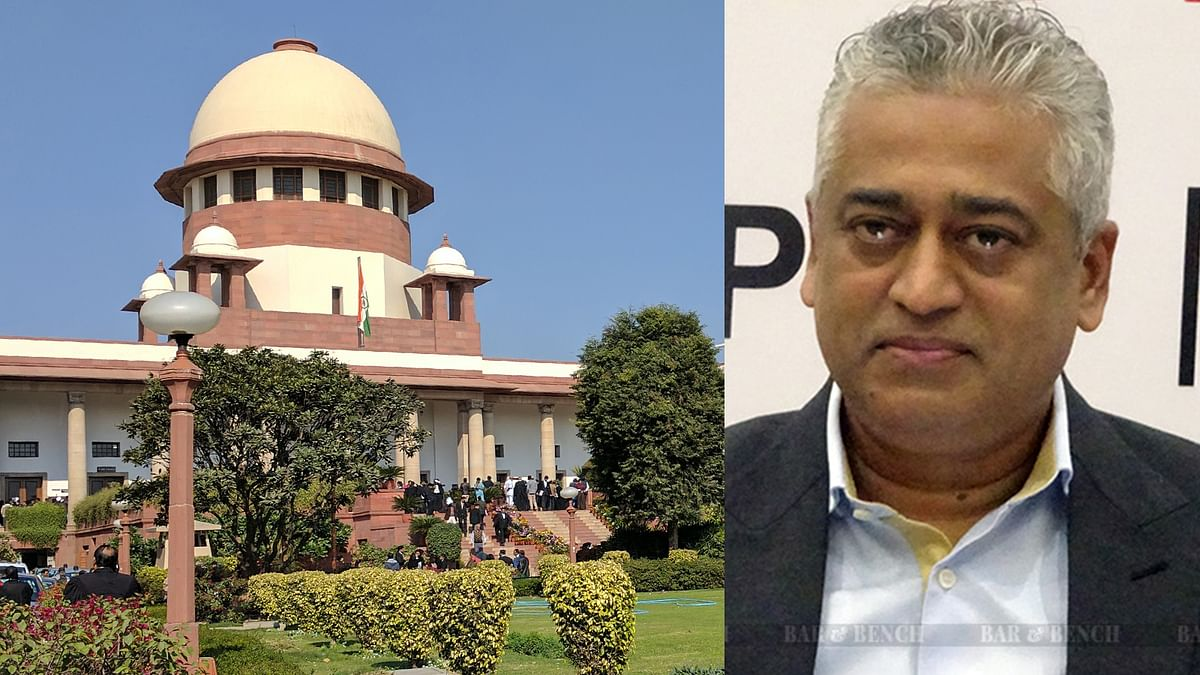 [BREAKING] Months after AG denying consent, Supreme Court registers suo motu Contempt case against Rajdeep Sardesai for tweets criticising court