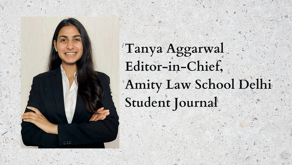 The Journalists: Tanya Aggarwal, ALSD Student Journal