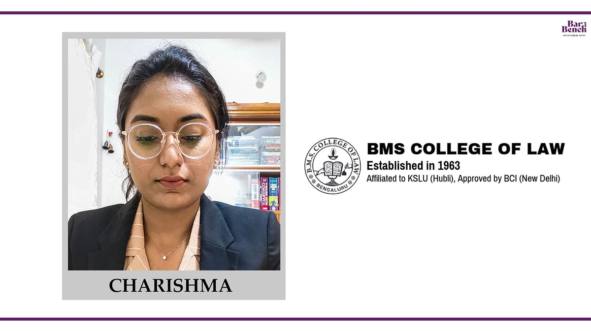 Know your Campus Ambassador: Charishma, BMS College of Law