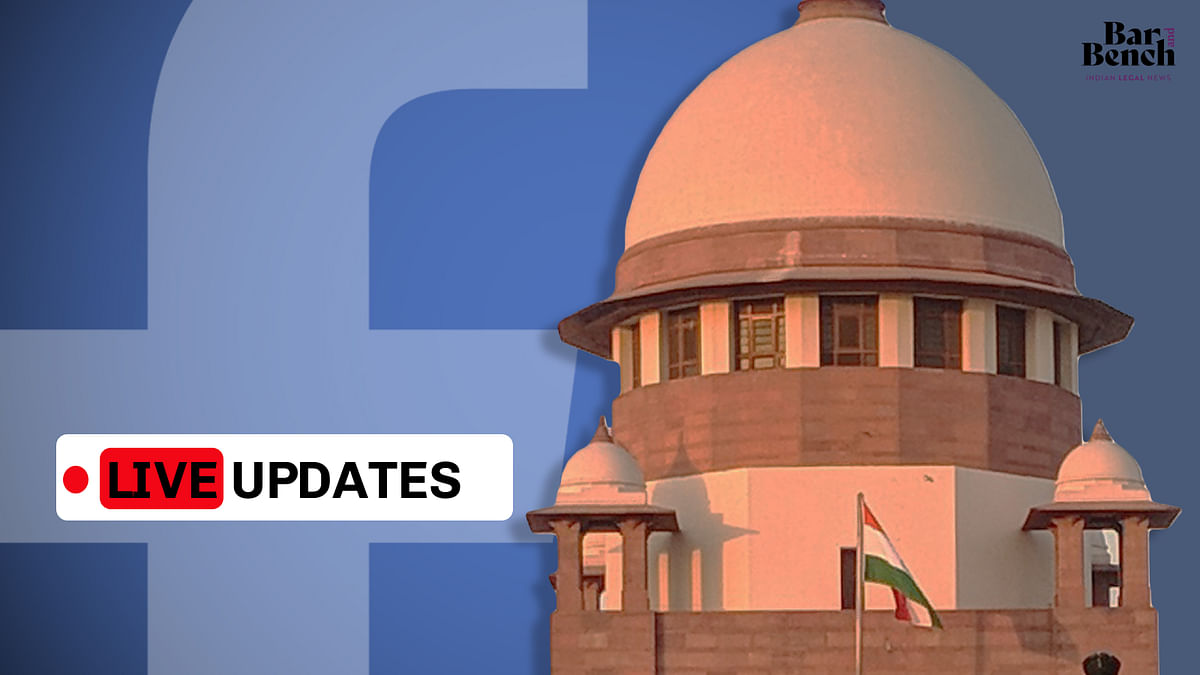 Challenge to Delhi Assembly summons to Facebook over role in Delhi Riots: LIVE UPDATES from Supreme Court