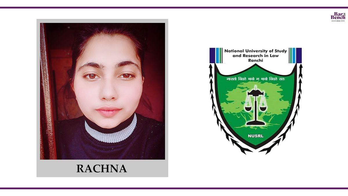 Know your Campus Ambassador: Rachna Kumari, NUSRL