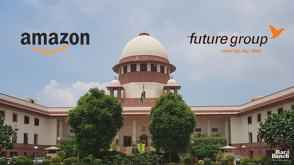 Illegal, arbitrary and without jurisdiction: Amazon moves Supreme Court against Delhi High Court stay on Future- Reliance deal status quo - Bar & Bench - Indian Legal News