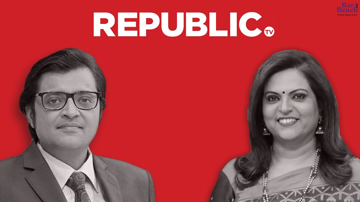 [BREAKING] Delhi Court takes cognizance of defamation complaint by Republic TV against Navika Kumar