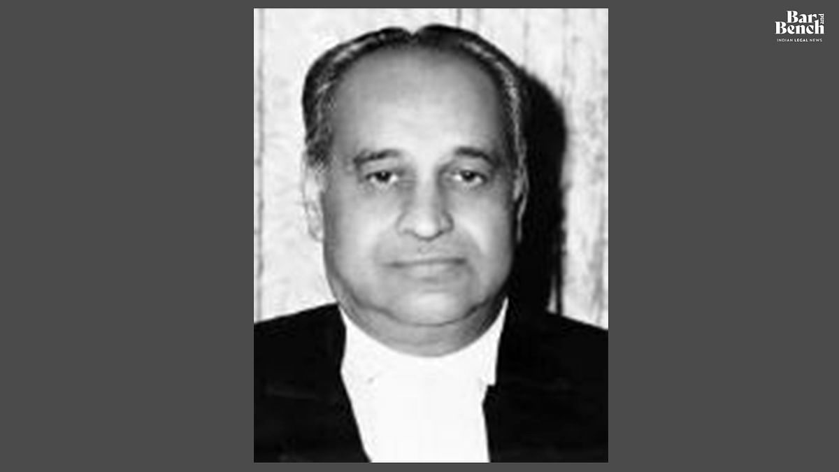 Former Governor and High Court Chief Justice, Justice M Rama Jois passes away