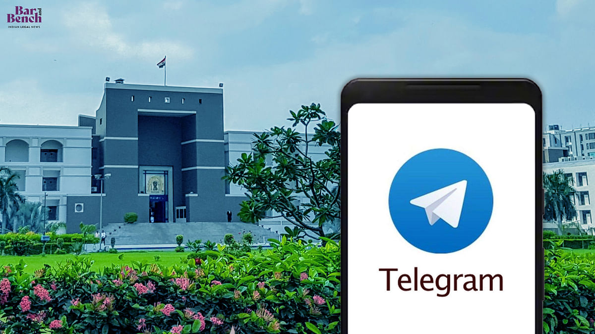 Gujarat High Court starts official Telegram channel to provide circulars, causelists, notices