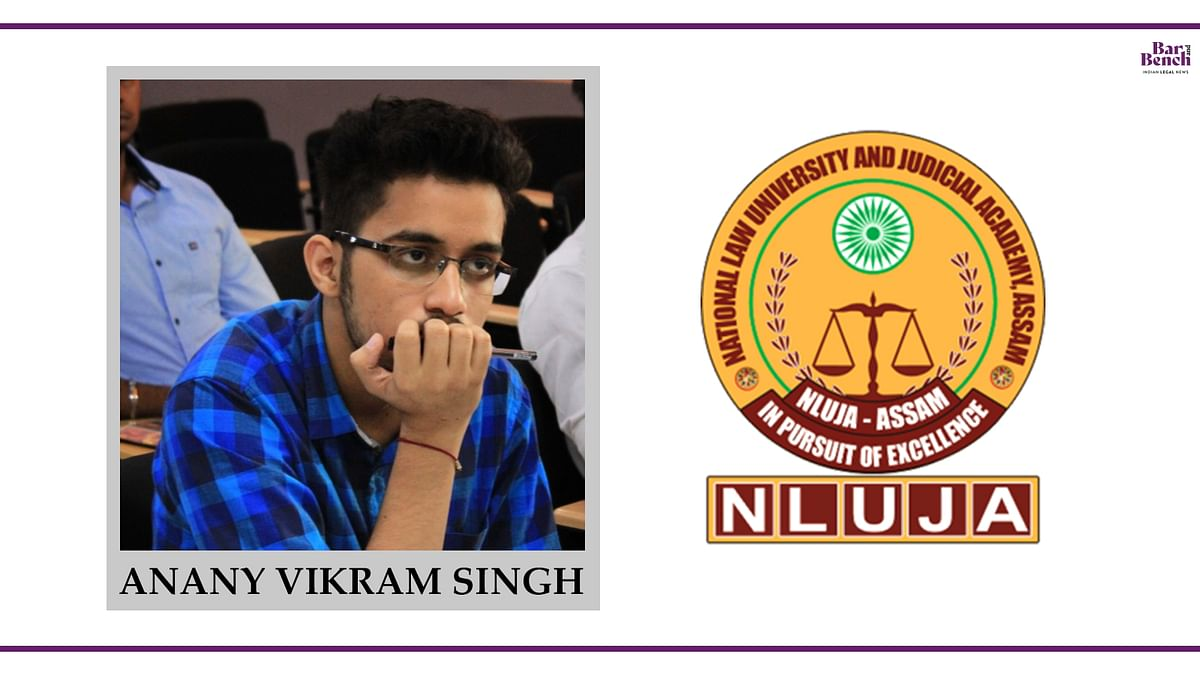 Know your Campus Ambassador: Anany Vikram Singh, NLUJAA