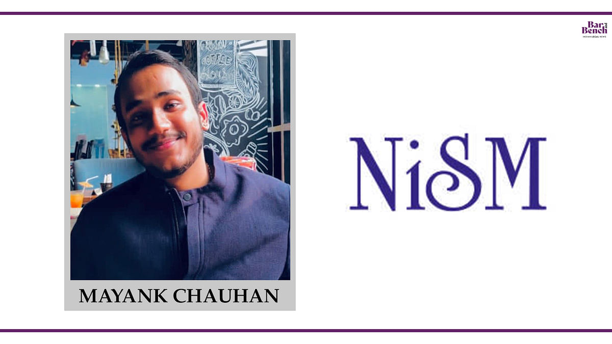 Know Your Campus Ambassador: Mayank Chauhan, National Institute of Securities Markets