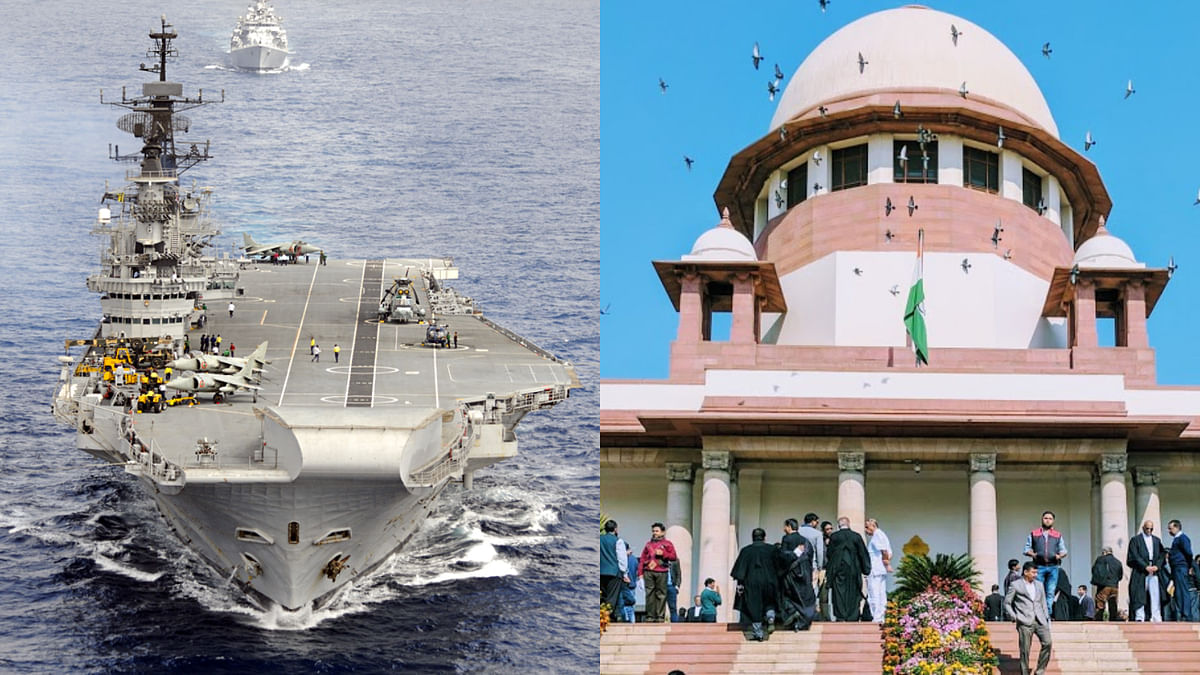 [BREAKING] Supreme Court orders status quo on demolition of aircraft carrier INS Viraat
