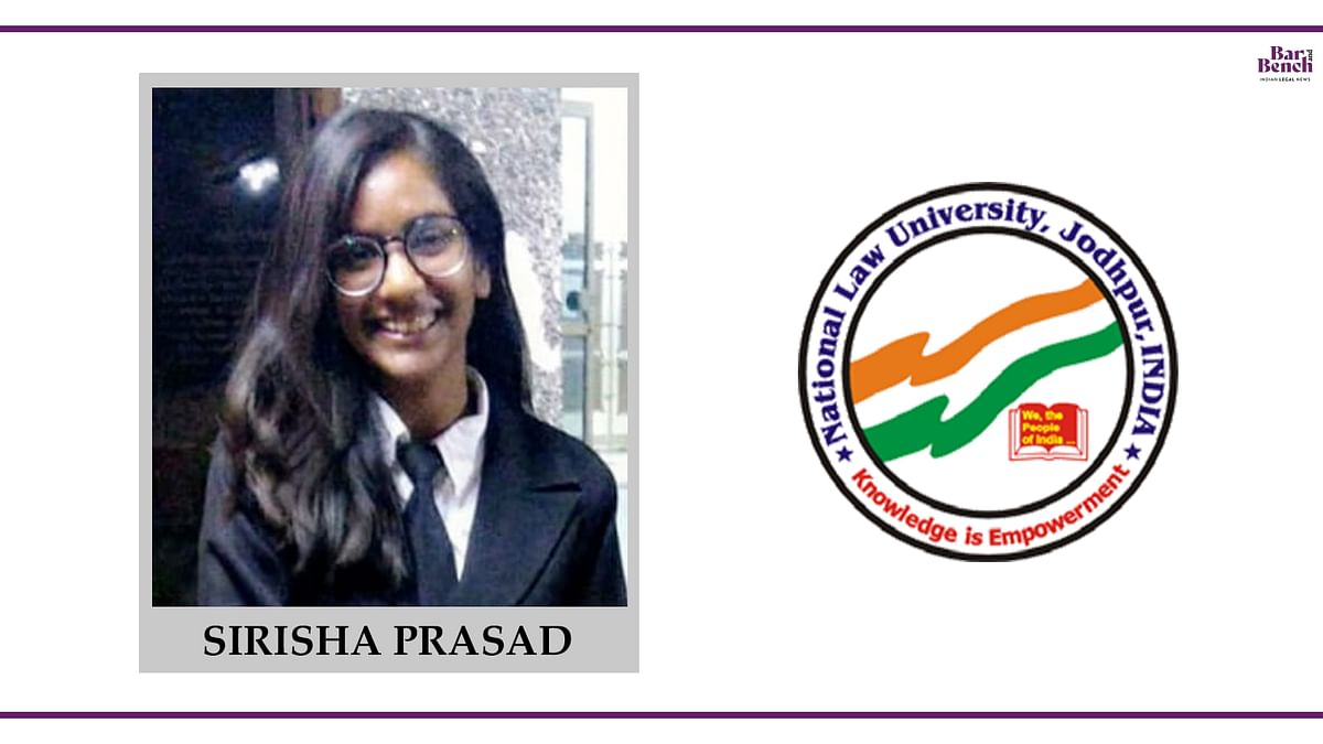 Know your Campus Ambassador: Sirisha Prasad, NLU Jodhpur