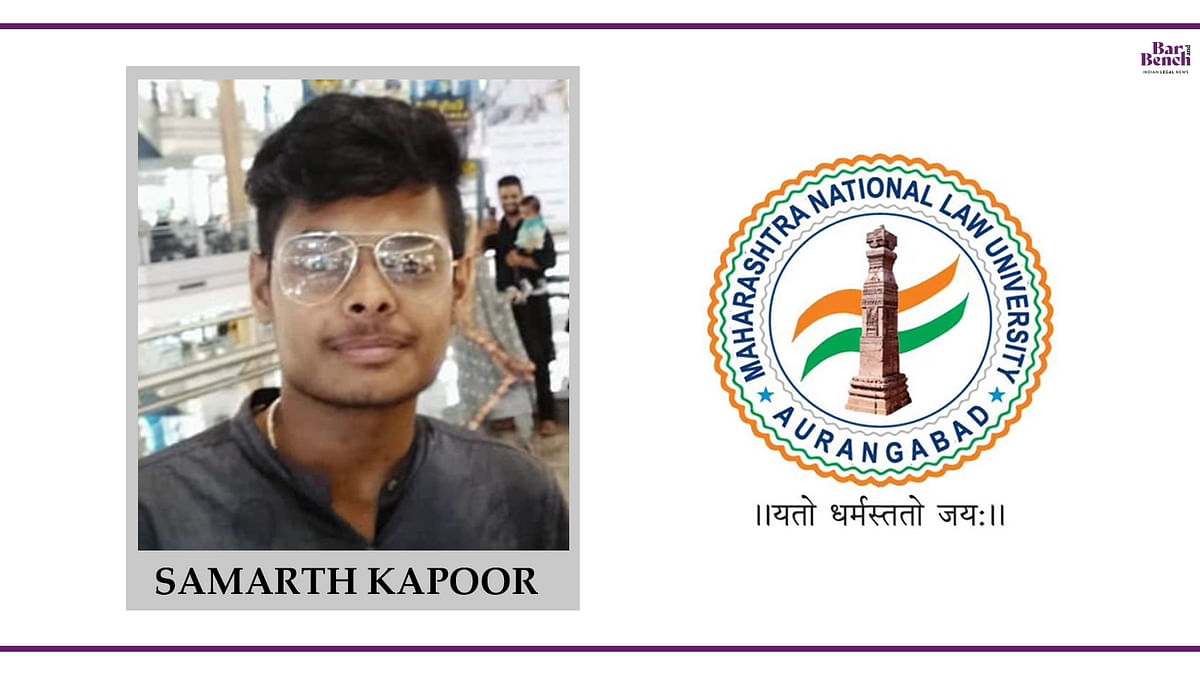 Know your Campus Ambassador: Samarth Kapoor, MNLU Aurangabad