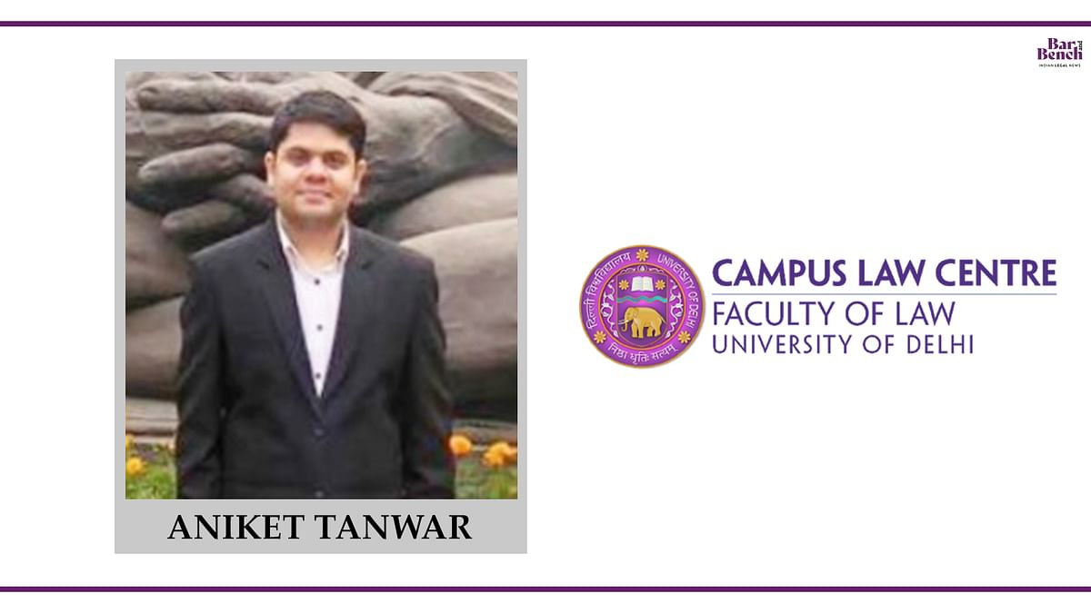 Know Your Campus Ambassador: Aniket Tanwar, Law Centre II