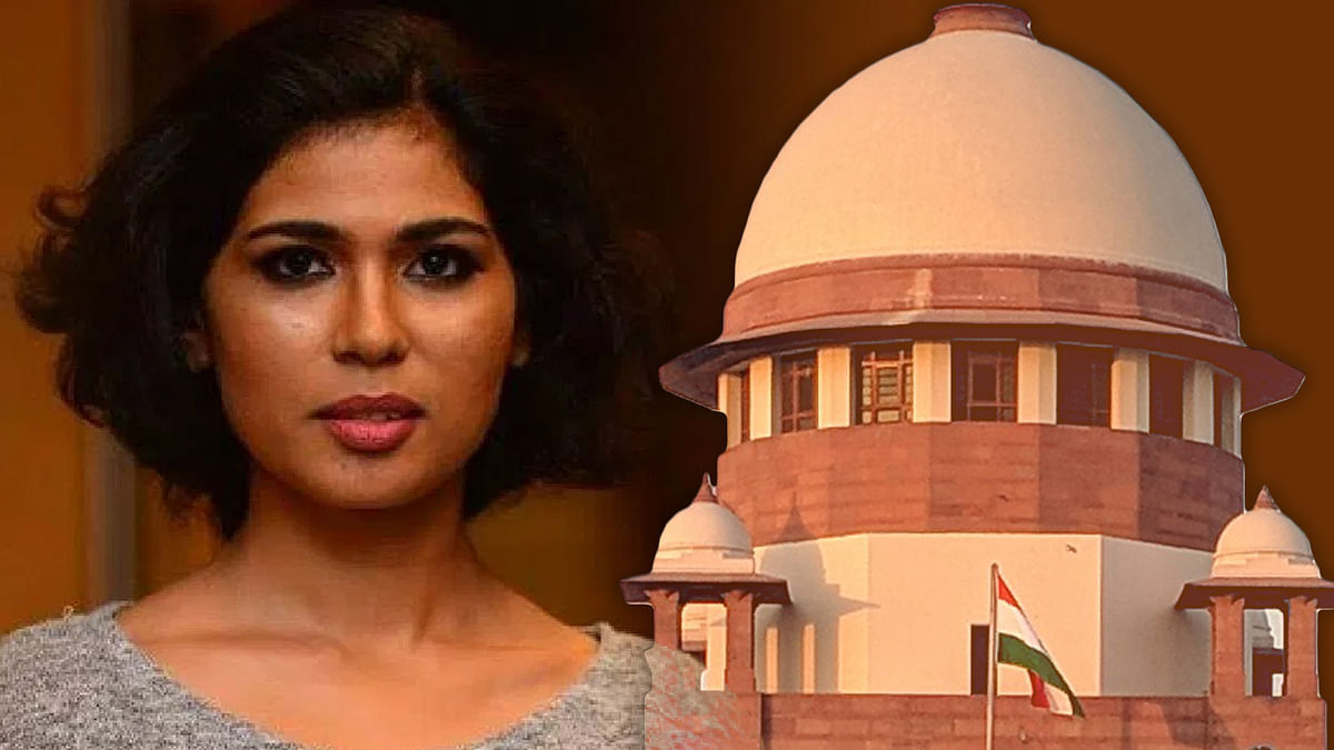 Kerala High Court ban on activist  Rehana Fathima from publishing, sharing material on visual, electronic media stayed by Supreme Court