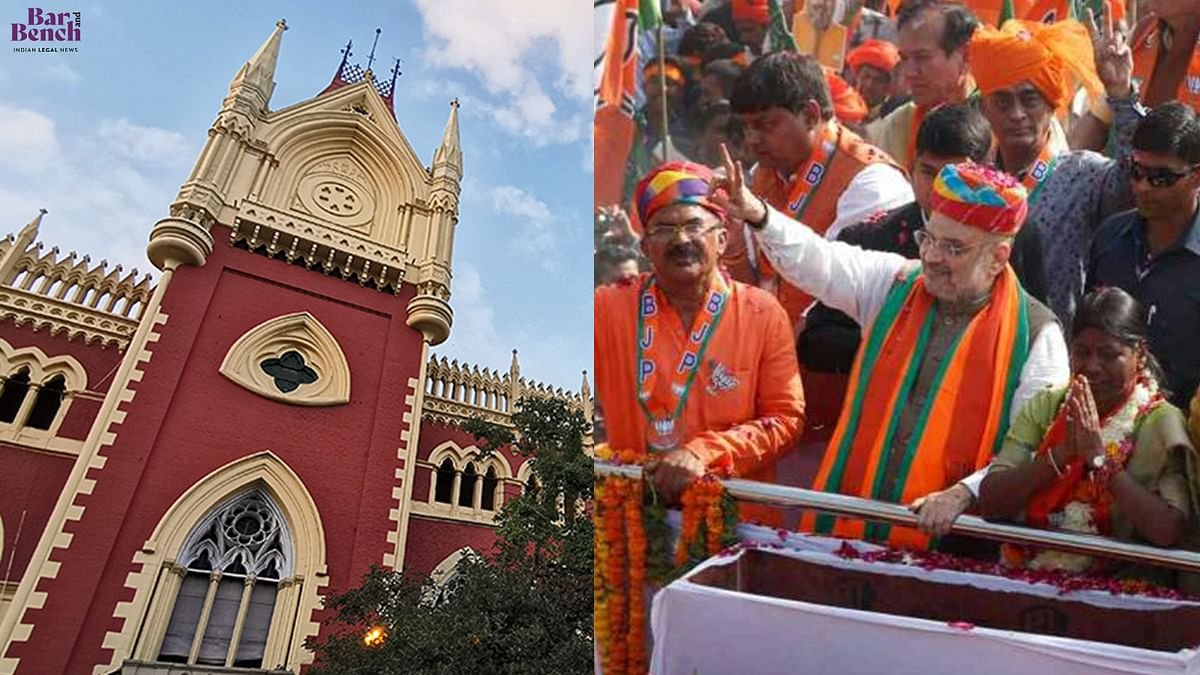"Calcutta High Court dismisses ""politically motivated"" PIL against conduct of BJP's Rath Yatra"