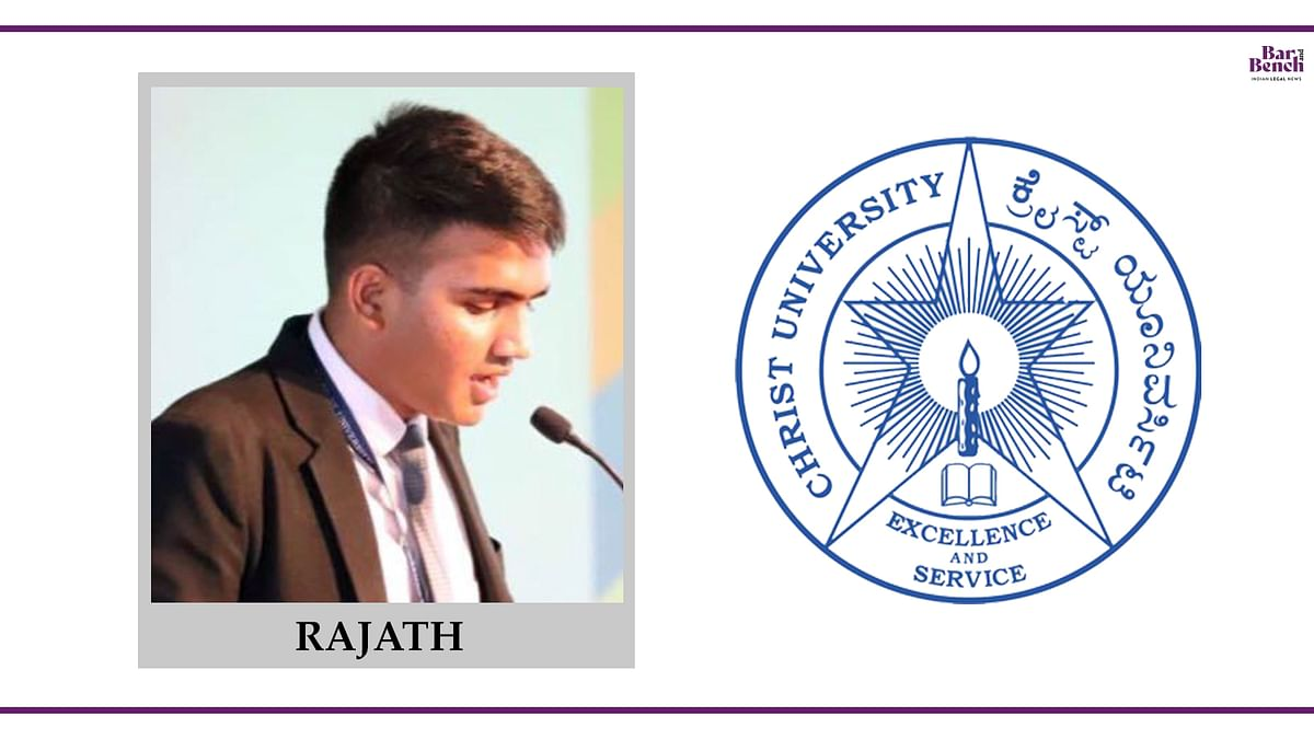 Know your Campus Ambassador: Rajath, School of Law at Christ University