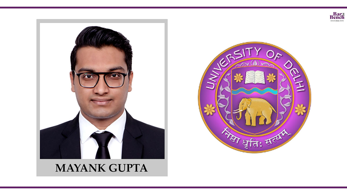 Know your Campus Ambassador: Mayank Gupta, Campus Law Centre