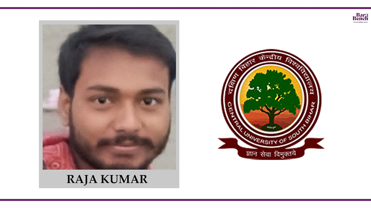 Know your Campus Ambassador: Raja Kumar, CUSB