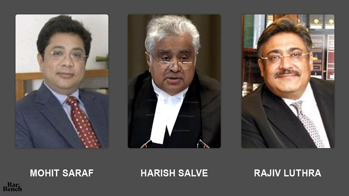 Following Delhi High Court suggestion, Senior Advocate Harish Salve agrees to mediate between Rajiv Luthra and Mohit Saraf