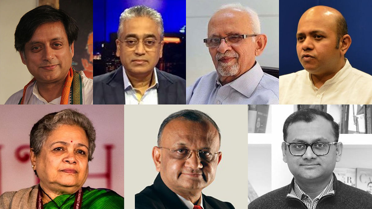 """Shashi Tharoor, Rajdeep Sardesai and others move Supreme Court to quash FIRs over """"misreporting"""" on Farmers' Protests"""