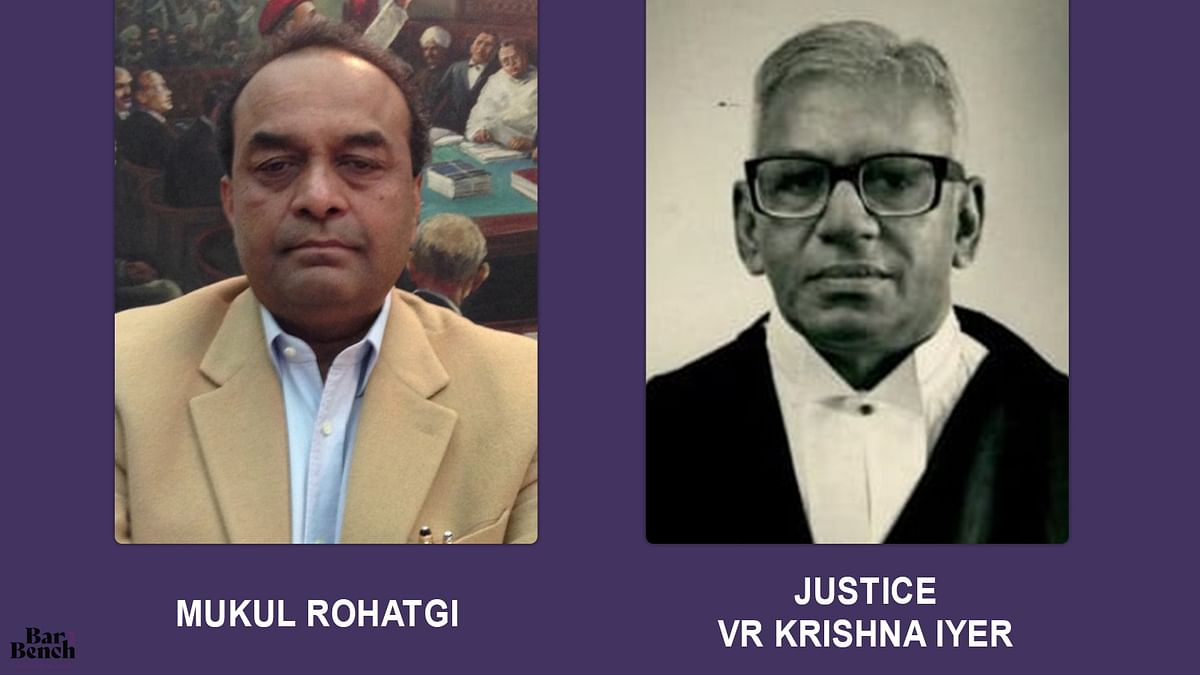 High Courts, Supreme Court should learn from Disha Ravi order; revert to Krishna Iyer J law on bail: Former Attorney General Mukul Rohatgi