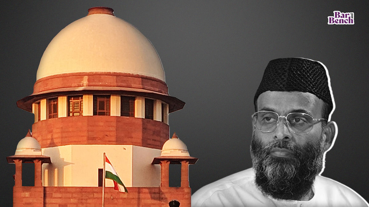 [2008 Bengaluru Blast] Supreme Court rejects plea by Abdul Nazer Maudany to relax bail conditions
