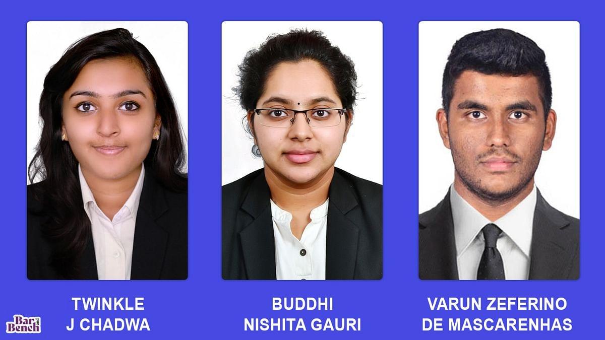 Christ University's School of Law, Bangalore wins D.M. Harish Moot, 2021